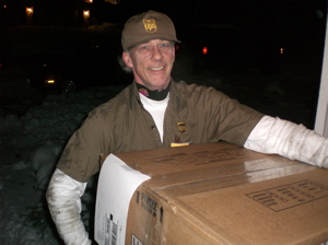 Eric, the UPS guy 122308